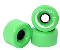 peg groveler 83a longboard wheels green skateboarding