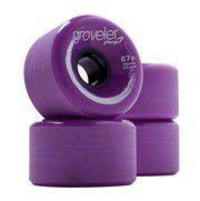peg groveler 87a longboard wheels purple skateboarding