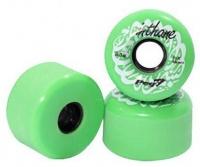 peg inthane 83a longboard wheels green skateboarding