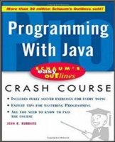 schaums easy outline of programming with java programming