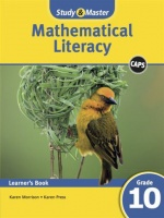 Study Master Mathematical Literacy Learners Book Grade 10 Learners Book