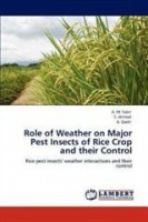 role of weather on major pest insects rice crop and pest control