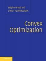 convex optimization programming
