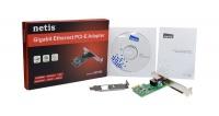 netis pcie 101001000tx gigabit ethernet card with lp