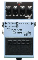 boss ce 5 stereo chorus effects pedal mtb clipless pedal