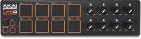 akai pro lpd8 ultra portable usb pad controller for laptops midi controller