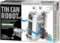 4m tin can robot electronic toy