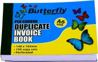 Butterfly A6 Duplicate Book Invoice 200 Sheets
