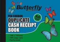 Butterfly A6 Duplicate Book Cash Receipt 100 Sheets