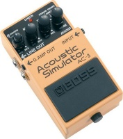 boss effects pedal acoustic simulator road clipless pedal