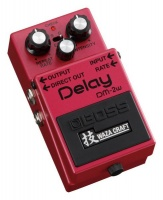 boss effects pedal digital delay road clipless pedal