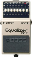 boss effects pedal 7 band graphic equaliser road clipless pedal