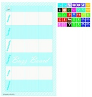 buzz board school activity planner blue calendars planner