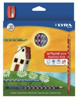 lyra groove slim 24 colour pencils sharpener pencil sharpener