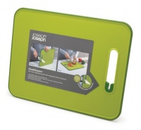 joseph slice and sharpen large cutting board green food preparation