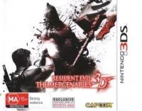 resident evil the mercenaries oz 3d nintendo 3ds
