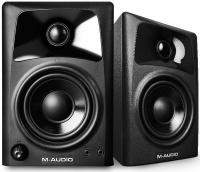 m audio av42 active reference monitor speakers pair studio monitor