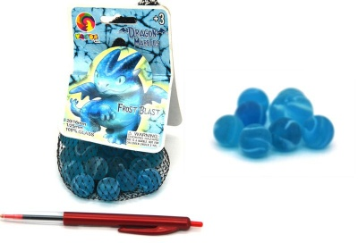 Ideal Toy Marbles Frost Blast