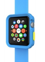switch easy tpu bumper for apple watch 38mm blue