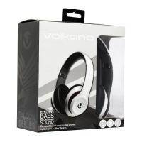 Volkano Falcon Series Headphones with Mic Black