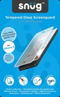 snug tempered glass screenguard for iphone 6 white