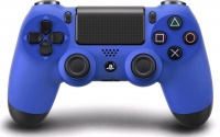 sony dual shock 4 controller blue ps4