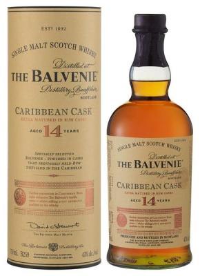 The Balvenie 14 Year Old Single Malt Whisky 750ml