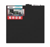 parrot whiteboard tile magnetic 355 x 355mm black office machine