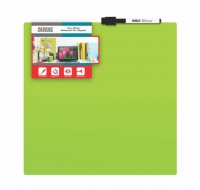 parrot whiteboard tile magnetic 355 x 355mm green office machine