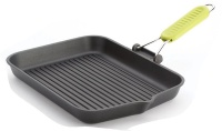 risoli saporelax grill pan 36 x 26cm yellow folding handle