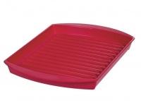 progressive kitchenware griller red microwave
