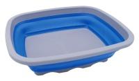 Leisure Quip Leisure Quip Large Rectangular Foldaway Washing Up Bowl Blue