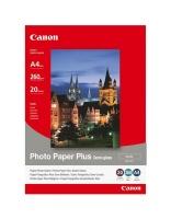 canon sg 201 semi gloss a4 photo paper 20 sheets office machine