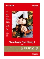 canon pp 201 plus glossy 2 a3 photo paper 20 sheets office machine