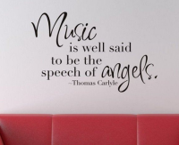 bedight music is well said to be the speech of angels