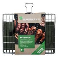 Kaufmann Braai Grid Adjustable Chrome Plated Box Medium