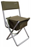Kaufmann Outdoor Fisherman Chair with Backrest Brown
