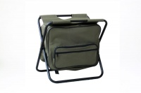 Kaufmann Fisherman Chair with Cooler Green