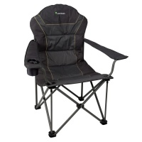 Kaufmann Outdoor Spider Deluxe Chair Charcoal