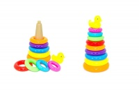 Ideal Toy Stacking Ring with Duck