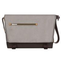 moshi aerio messenger bag for 15 notebook titanium grey