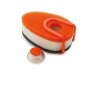 joseph soapy sponge orange bathroom accessory