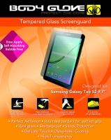 body glove tempered glass screenguard for samsung tab s2