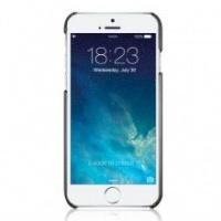 macally snapcase for the iphone 66s metallic black