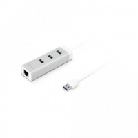macally 3 port usb 30 hub with gigabit ethernet adapter