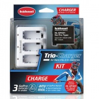 hahnel trio charger plus gp401 battery kit camera
