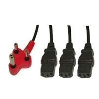generic 38m dedicated 3 headed power cable