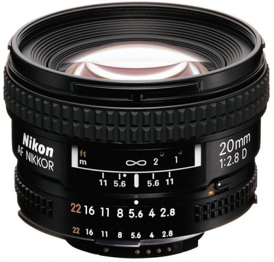 Photo of Nikon 20mm F2.8 AF D Lens