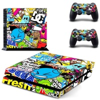 skin nit decal for ps4 sticker bomb 2 handheld console