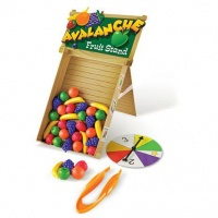 avalanche fine motor fruit stand playset